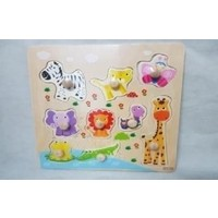 Wooden Animal Board Puzzle