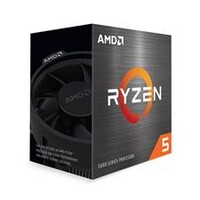 AMD Ryzen 5 5600X Zen 3 CPU 6 Core 12 Threads Boost Up To 4.6GHz Base 3.7GHz Total Cache 35MB Wraith Stealth Cooler
