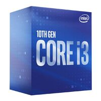 Intel Core i3 10100F 3.6GHz (4.3GHz Turbo) 10th Gen 4-Cores 8-Threads