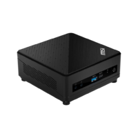 Cubi 5 10M-037BAU, Intel i3-10110U, HD Graphics, Barbone with Wifi 6 & Wall Mount Kit & Power Switch Cable