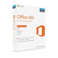 MIcrosoft Office 365 Home 1 Year