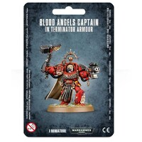 Warhammer 40,000: Blood Angels Captain In Terminator Armour