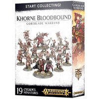 Warhammer Age of Sigmar: Start Collecting! Khorne Bloodbound Goreblade Warband