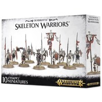 Warhammer Age Of Sigmar: Deathrattle Skeleton Warriors 10 Figure Set
