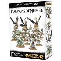 Warhammer Age of Sigmar Start Collecting! Daemons of Nurgle Set