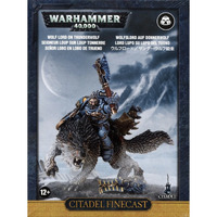 Warhammer 40,000 Space Wolves Wolf-Lord on Thunderwolf