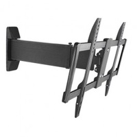 "Brateck Aluminium Slim Sliding Full-Motion TV Wall Mount For most 37""-70"""