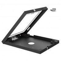 Brateck Wall Mount Anti-Theft Secure Enclosure for iPad 2, iPad 3, iPad 4, iPad Air & iPad Air 2 with Lock and Key – Black