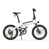 "HIMO C20 Partial Folding Electric Bicycle E-Bike Power Assist 20"" 10AH - White"