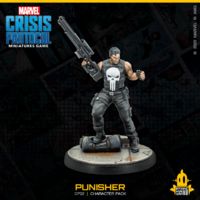 Marvel Crisis Protocol Miniatures Game Punisher and Taskmaster