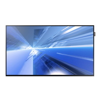 "Samsung DC48E 47.6"" Professional LED Display 350CD/M2 Brightness 16/7 Operation 1075mm x 619mm x 49mm Bezel 15mm"