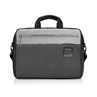 "Everki ContemPRO Black Commuter Briefcase Laptop Bag 15.6"" With 13"" Tablet Compartment"