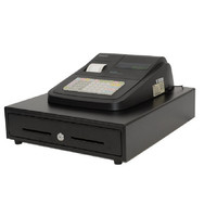 SAM4S ER180UDL Cash Register with Built -in Receipt Printer & Cash Drawer