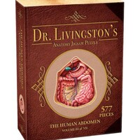Dr Livingston Anatomy Jigsaw Puzzle The Human Abdomen 577 Pieces