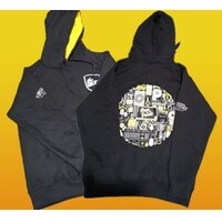 PCMARKET MERCHANDISE  Hoodie - Black with yellow hoodie