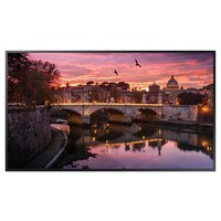 "QB65R 65"" UHD Commercial Screen 350 nit panel brightness 1453.9mm(W) X 831.0mm(H) X 46.3mm(D) 24.9(kg"