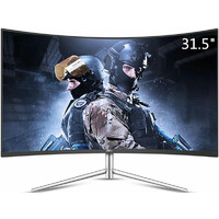 "AOC 31.5"" VA IPS-Type 4ms Full HD Ultra Narrow Border Curved Monitor"