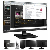 "LG 27BK750Y 27"" IPS 5ms Borderless Business Monitor w/HAS"