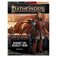 Pathfinder Second Edition Age Of Ashes Adventure Path 5 Against The Scarlet Triad