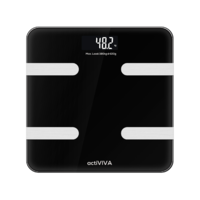 "mbeat ""actiVIVA"" Bluetooth BMI and Body Fat Smart Scale"