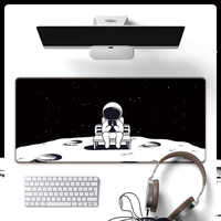 Space astronaut planet mouse pad 90*40cm