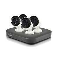 Swann 8 Channel 4K DVR Kit with 4 x 4K PIR Bullet Cameras