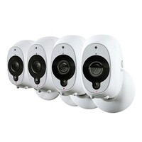 Swann 1080p Battery Powered Quad Pack Wi-Fi Camera