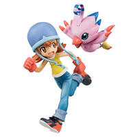 Digimon Adventure G.E.M Sora & Biyomon 1/10 Figure