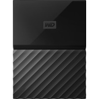 "WD My Passport 2.5"" 2TB Black Portable Hard Drive"